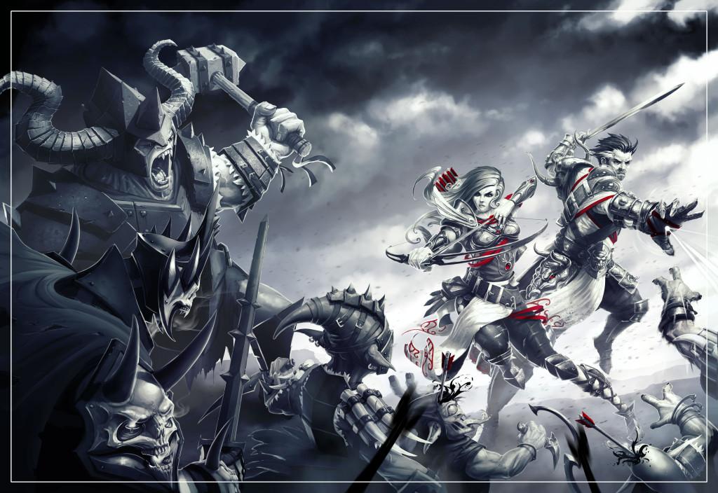 KeyArt_Divinity_Original_Sin_Enhanced_Edition_BlackWhite_Collapse